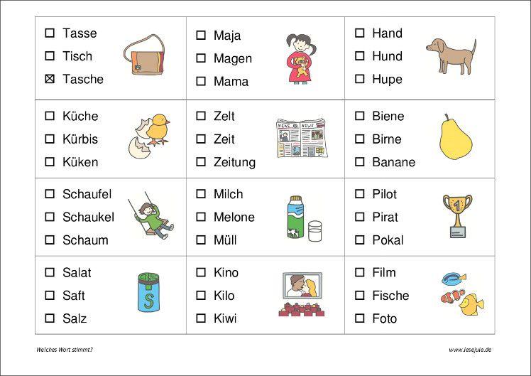 Lesejule Formen vorschule, Leseschule, Deutsche schule
