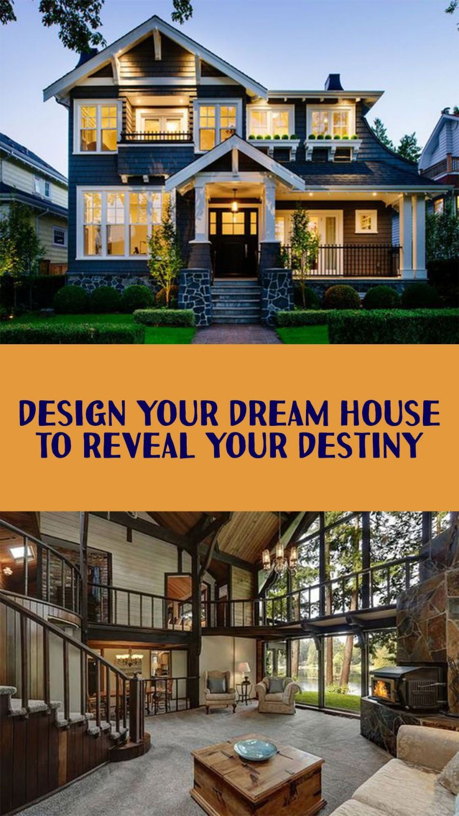 Quiz Build Your Dream House And We Will Tell You What Age You Ll Get Married Fancy Houses Dream House Water House