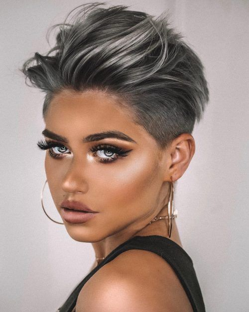 The 20 Coolest Undercut Pixie Cuts Found for 2021
