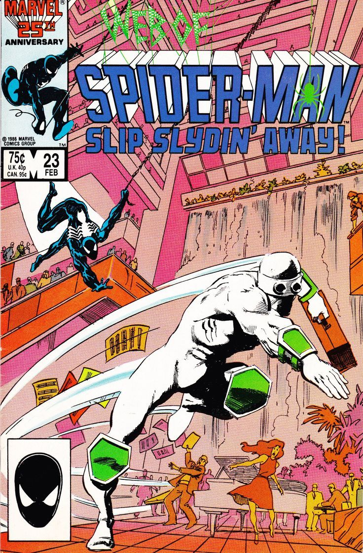Comic Book Web of Spider Man Volume 1 Number 23 February 1987 Marvel Comics Vintage Comi Comic Book Web of Spider Man Volume 1 Number 23 February 1987 Marvel Comics Vinta...