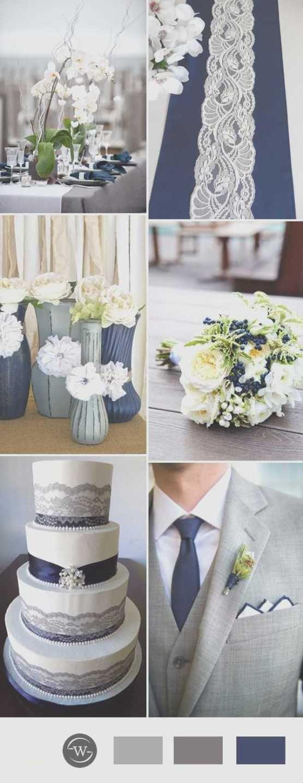 Unique Navy Blue and Silver Wedding Decorations | Grey weddings ...