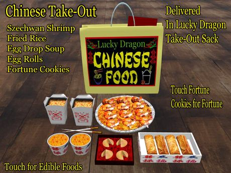 Check Out This Second Life Marketplace Item Edible Food Chinese Fortune Cookie Food