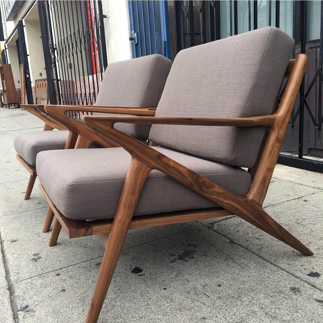 Best Mid Century Modern Custom Mid Century Accent Chairs 400 x 300