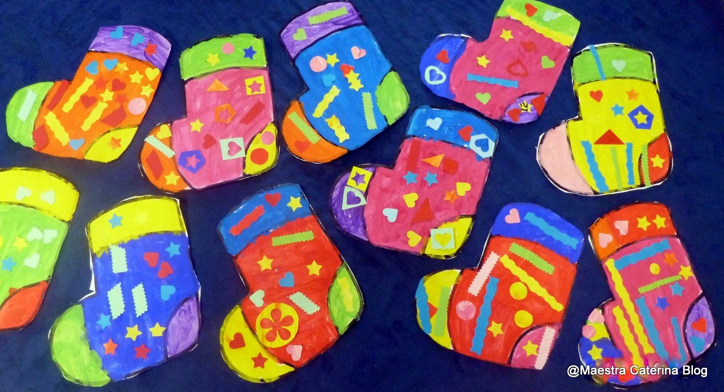 Maestra Caterina: Aspettando la BEFANA... prepariamo le calze!