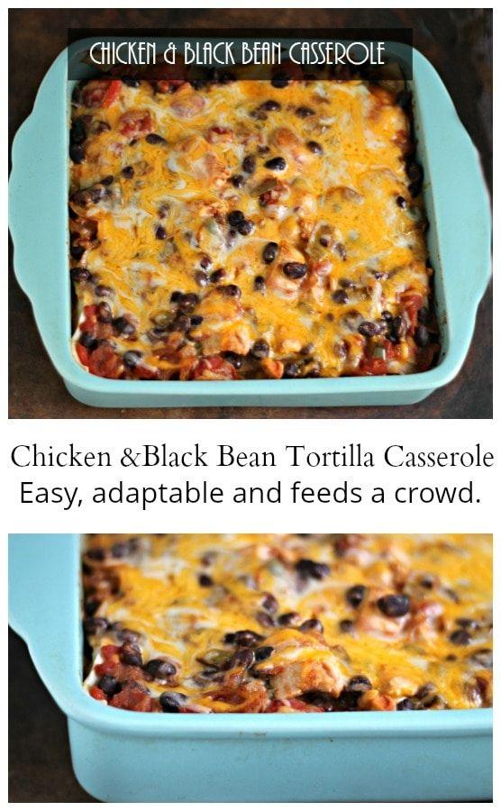 Chicken & Black Bean Casserole images