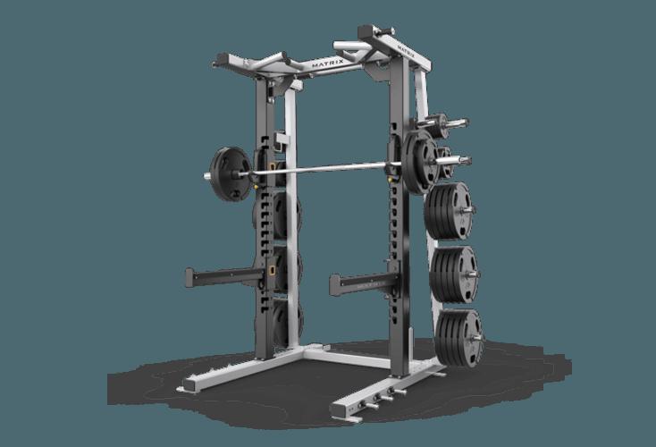 Matrix Fitness aura-FW73 Power Station Squat Rack-Commercial Gym