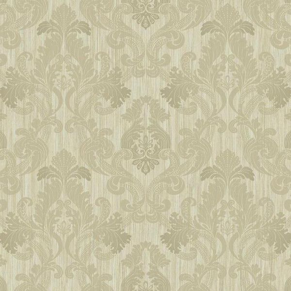 Framed Ombre Damask Wallpaper in Silver design by York Wallcoverings ($46) ❤ liked on Polyvore featuring home, home decor, wallpaper, scroll wallpaper, damask pattern wallpaper, silver wallpaper, silver metallic wallpaper and damask home decor