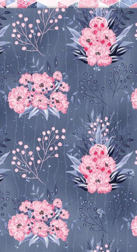 49 Super Ideas For Flowers Background Pink Print Patterns