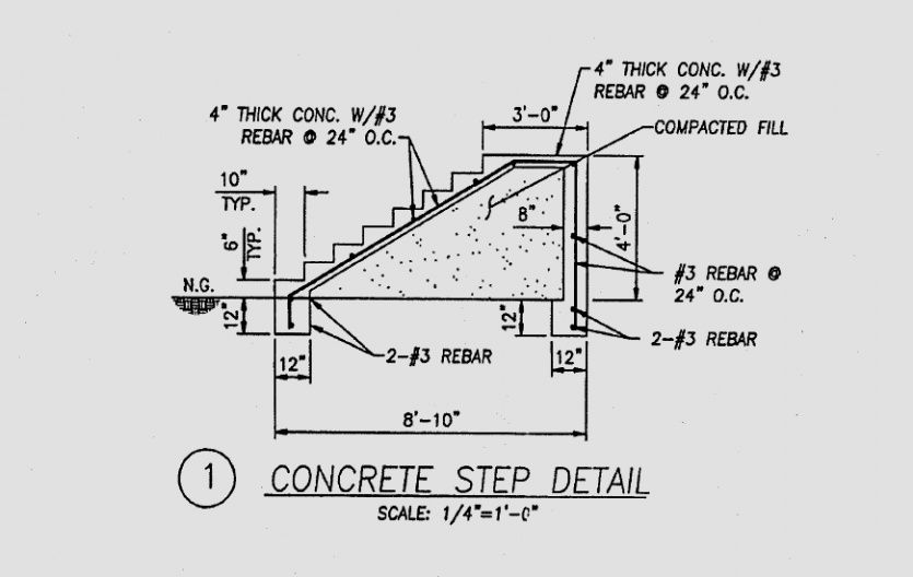 Best Image Result For Exterior Concrete Stair Detail Concrete 400 x 300