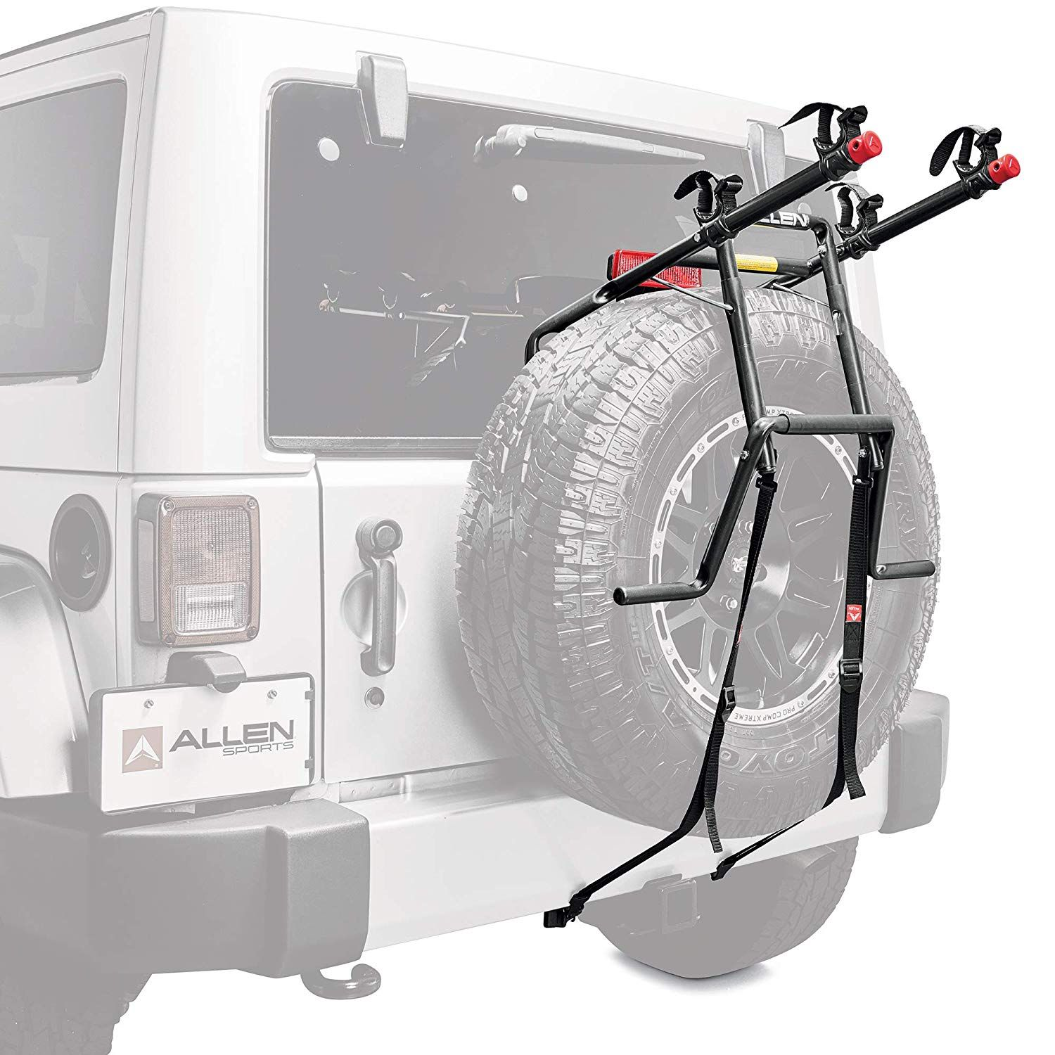 Allen Sports Deluxe 2 Bike Spare Tire Details Can Be Found By Clicking On The Image This Is An Affiliate Link In 2020 Spare Tire Mount Spare Tire Bike