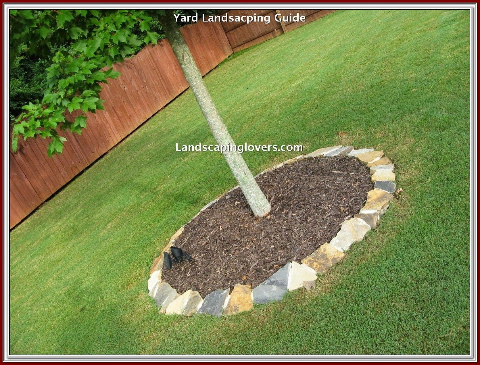 Photo of Think retaining walls for flower beds, beautiful garden paths, and bubbling wate…