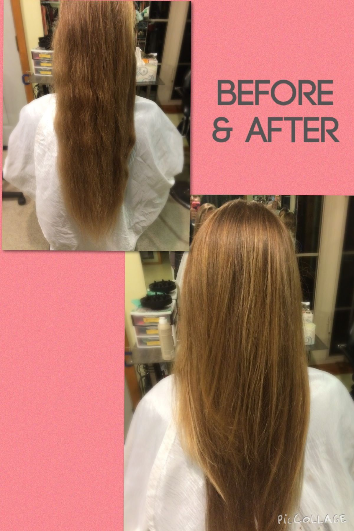 A simple haircut can Transform the looks of your hair from frizz to