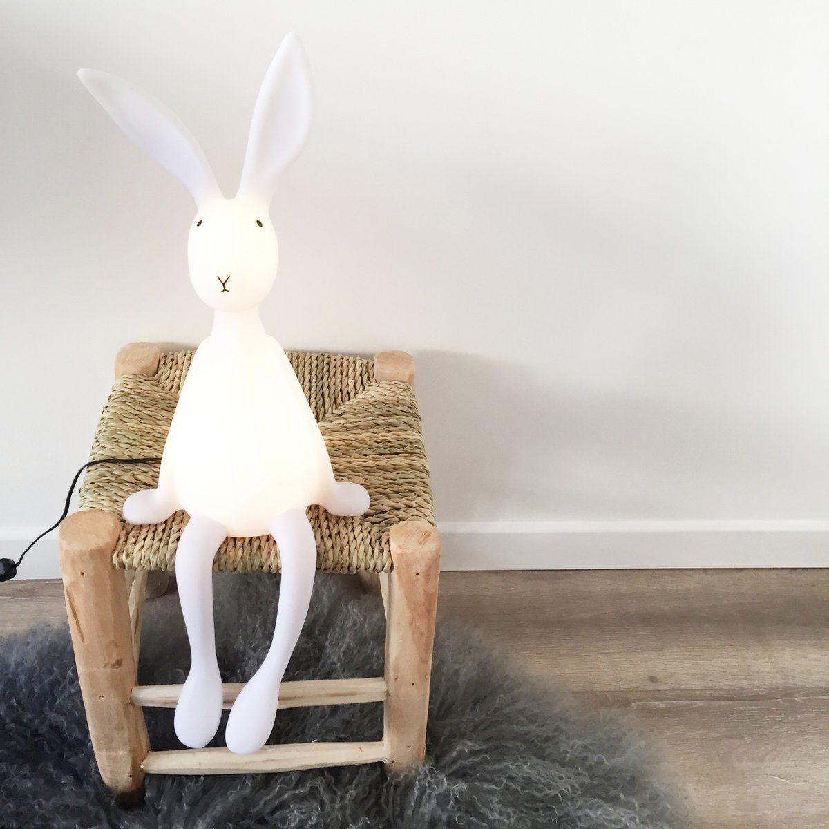 Lampe Veilleuse Lapin Joseph Le Lapin Attendrissant Imagine Par