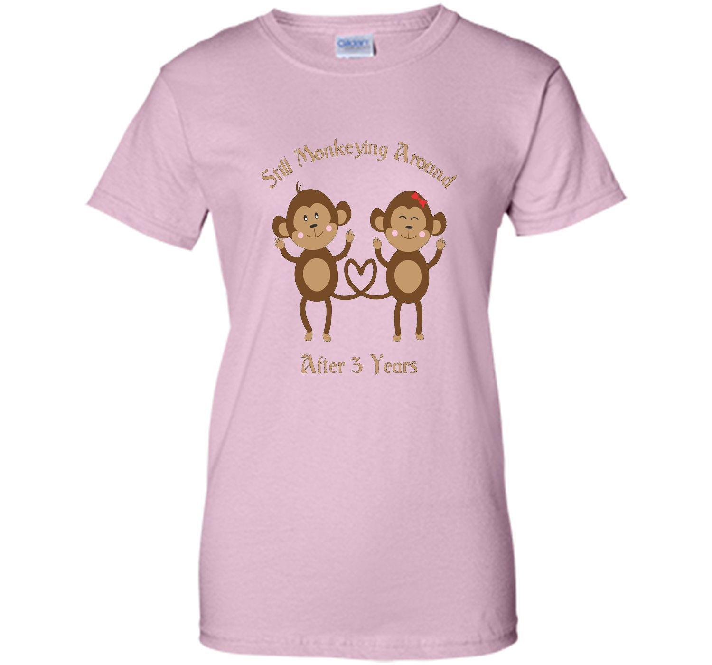 3rd Wedding Anniversary T-Shirt - 3 Years Vintage Gift shirt ...