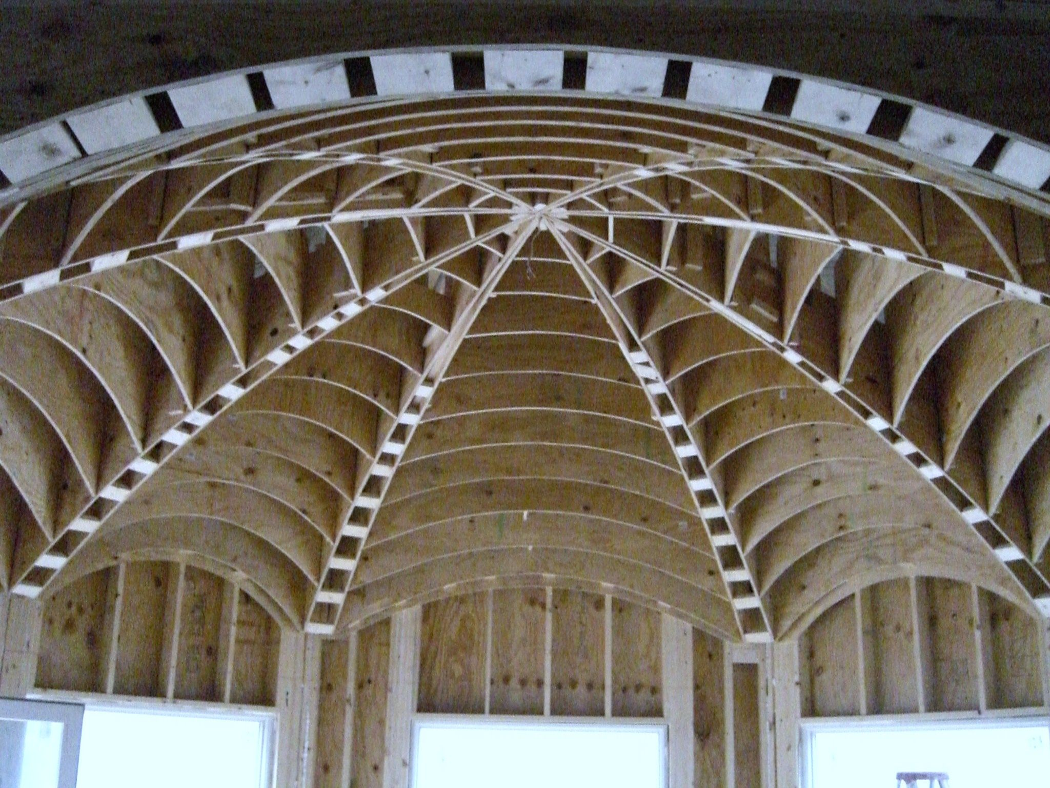 Roman barrel vault images galleries for Barrel vault roof