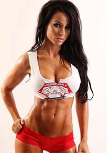 Hot Sexy Personal Trainer With Fake Boobs Fitness Model