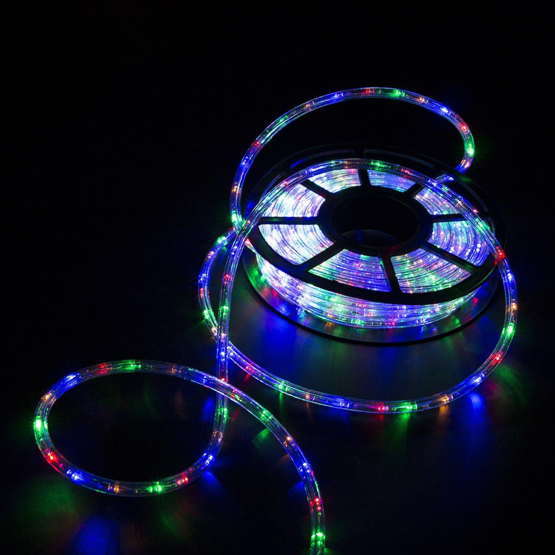 more photos 338ef 096c8 Sliverylake Multi Led Rope Light Home Indoor Outdoor ...