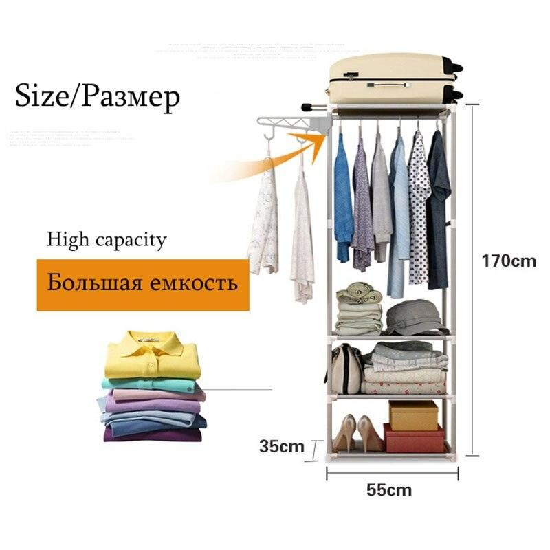 Assembly Coat Rack Brown Gray Pink Floor Clothes Storage Hanging Hangers Rack Clothing Storage Shelf Bedroom Home Furniture In 2020 Clothing Rack Hanging Clothes Racks Hanging Storage Shelves