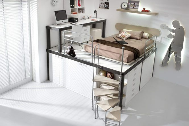 17 Marvelous Space Saving Loft Bed Designs Which
