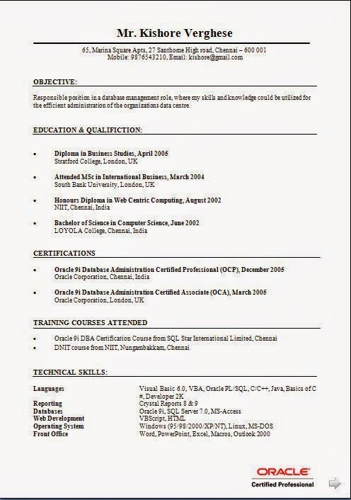 Ideas for resume sample template example of excellentcv resume ideas for resume sample template example of excellentcv resume curriculum vitae with career objective work experience for b cv freshers yadclub Gallery