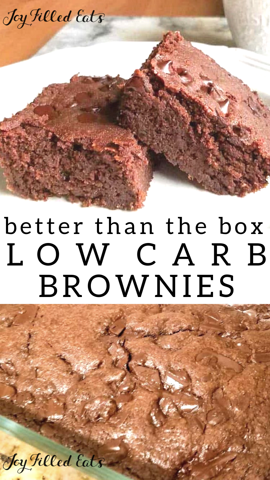 Hannah's Fabulous Brownies - Low Carb Sugar/Dairy Free THM S