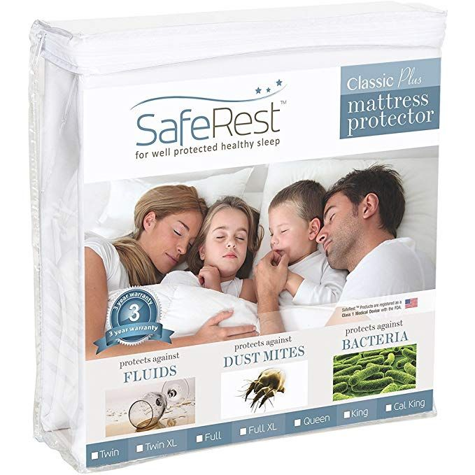 Twin Queen King Full Size Mattress Protector Dust Mite Topper Cover Waterproof
