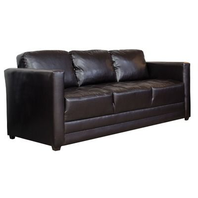 Charmant Serta Upholstery Harry Faux Leather Sofa U0026 Reviews | Wayfair