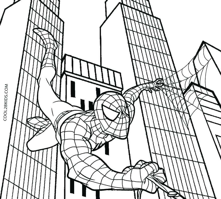Spiderman Coloring Pages Are One Of The Best Online Printable Superhero Coloring Pages For Ki Online Coloring Pages Spiderman Coloring Superhero Coloring Pages