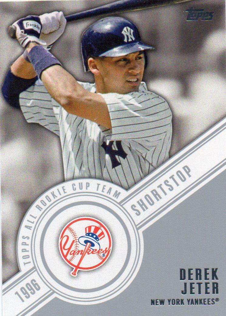Derek Jeter Baseball Card Halloween Pinterest Derek Jeter