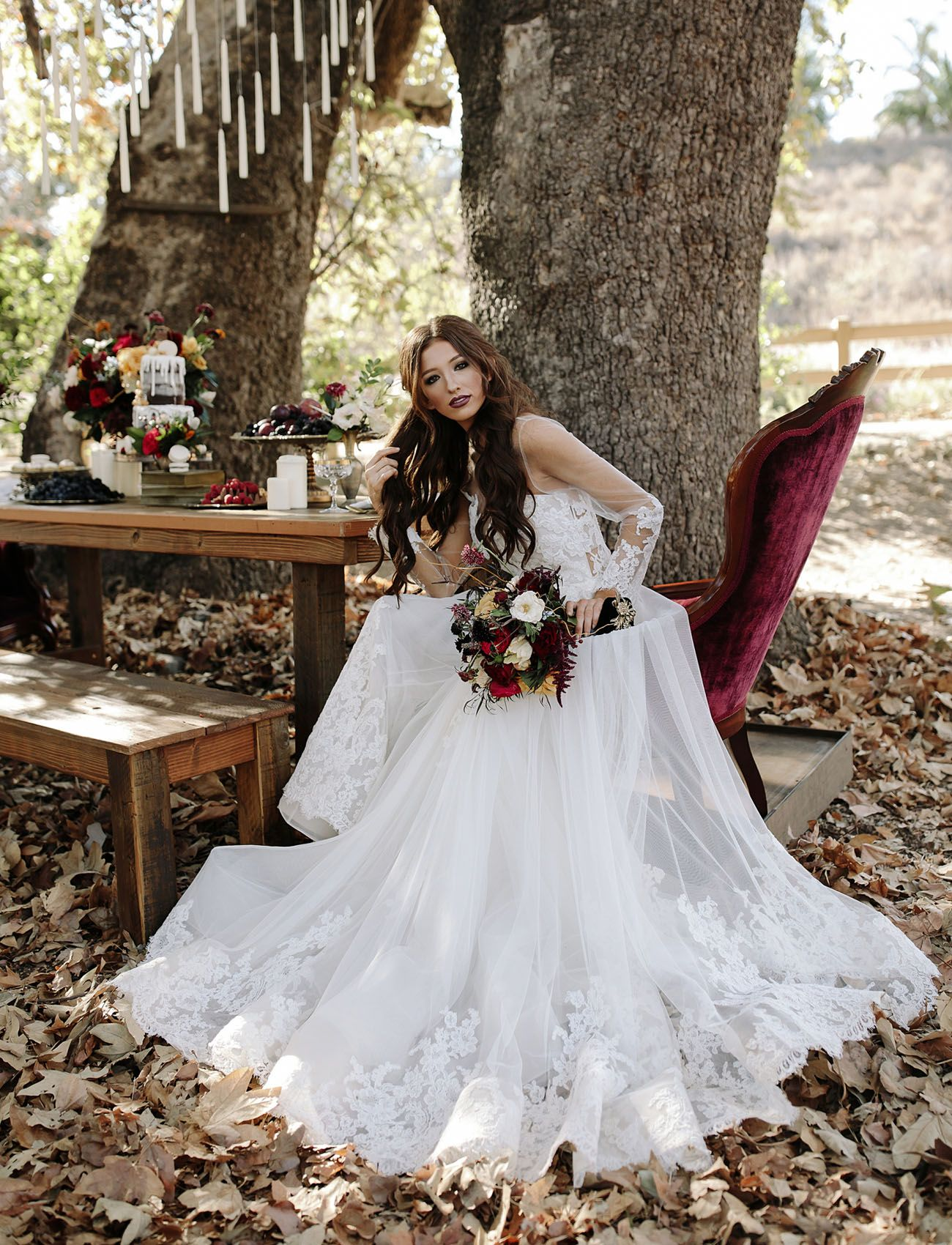 Harry potter wedding dress  Fantastic Beasts Meets Harry Potter Wedding Inspiration