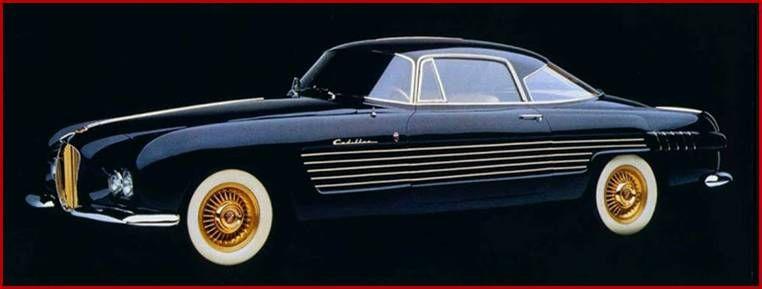 1953 Cadillac Ghia Coupe Automobiles Concept Vehicles