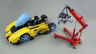 Lamborghini Egoista Legoland Lego Cool Lego Lamborghini