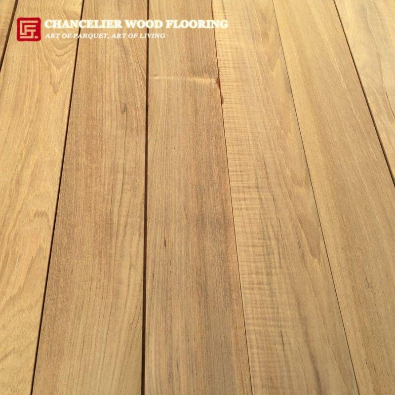 Unfinished Burmese Teak Parquet Wood Flooring Teak Wood Flooring