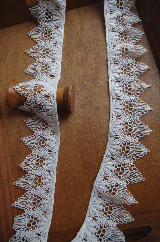 Cotton Lace Trim By The Yard By Lacefun On Etsy Cotton Lace