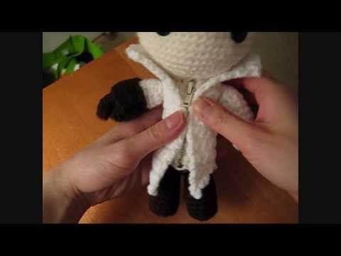 Crochet Amigurumi Ezio Sackboy Video Tutorial! | Crochet | Pinterest ...