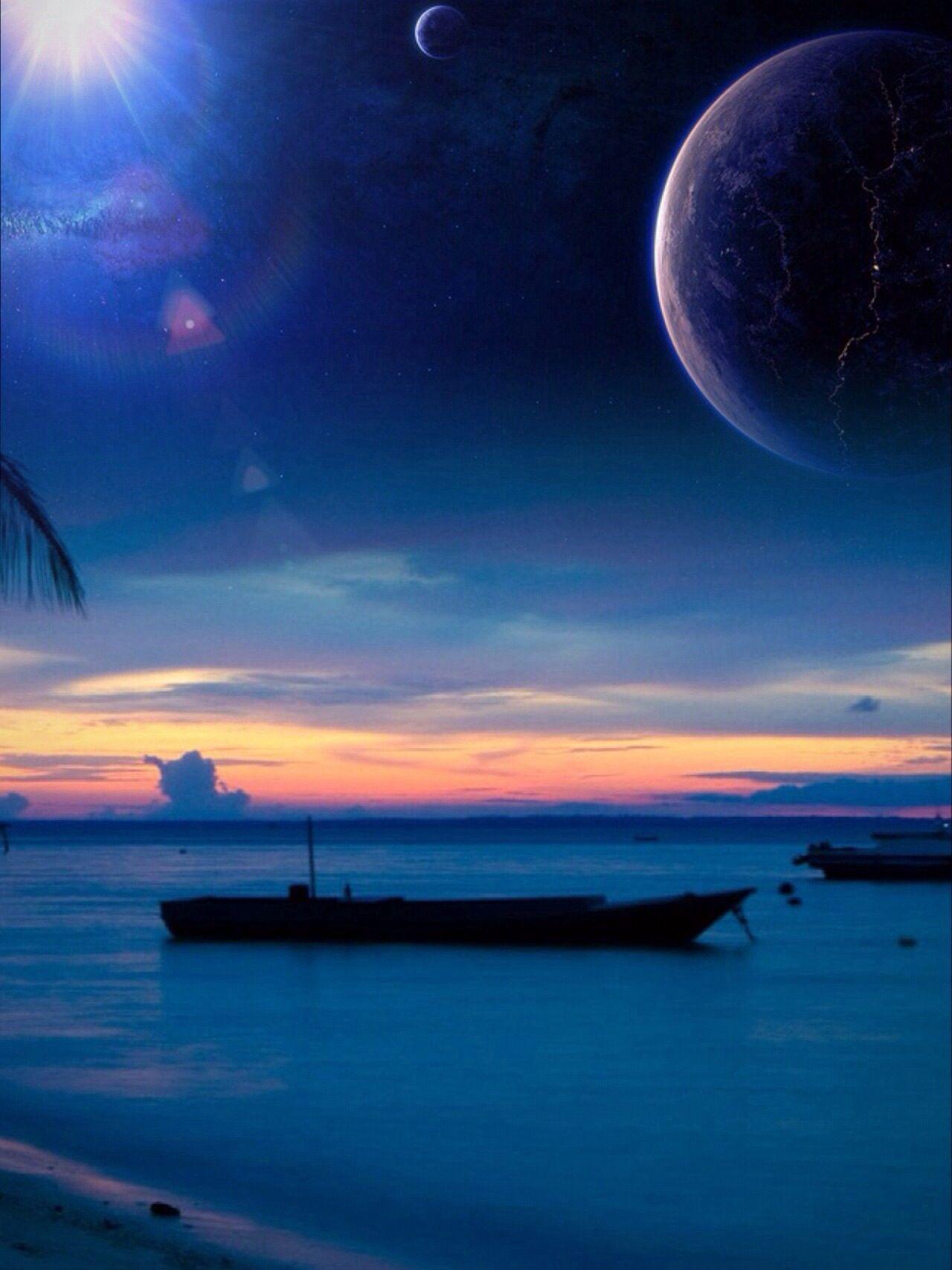 Love over the ocean