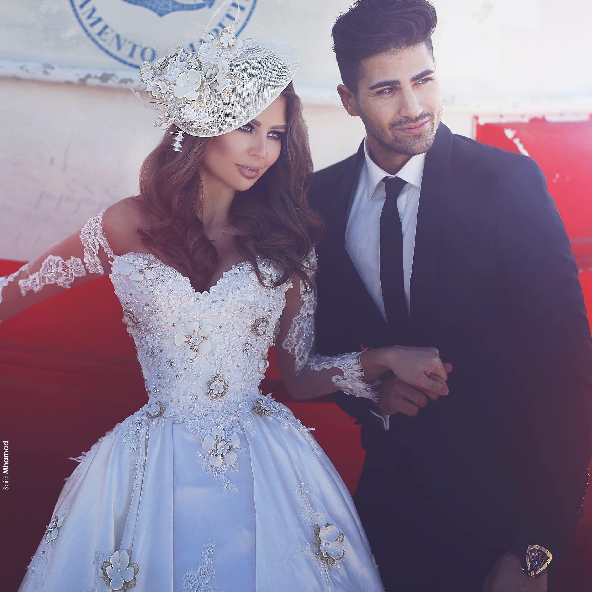 Ivory wedding dresses with sleeves  Pin by Mashallah Leelah on Wedding Dresses u Cakes  Pinterest