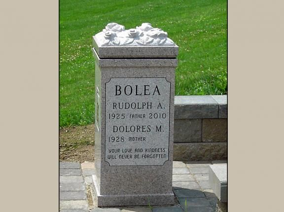 Pedestal Monuments For Cremated Remains Columbarium Tombstone Designs Memorial Garden
