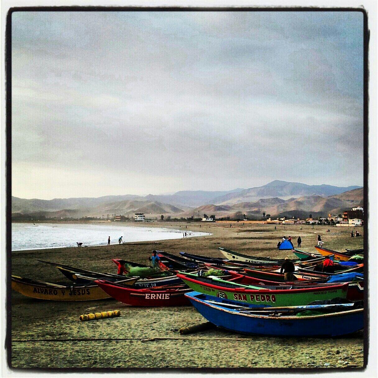 Cerro Azul. Lima