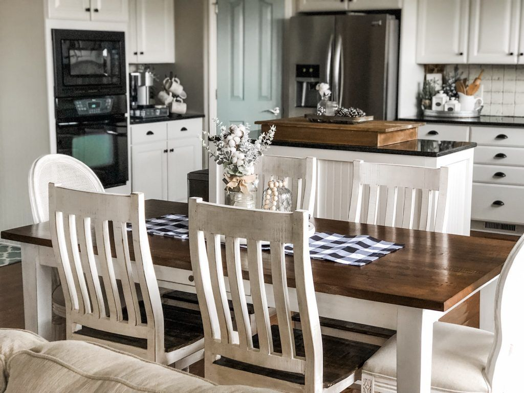 My new classic farmhouse kitchen table from Head Springs