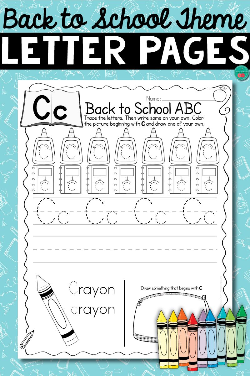 Letter Pages For The Whole Year 12 Themes Letter Recognition Worksheets Lettering Practice Learning Letters [ 1200 x 800 Pixel ]