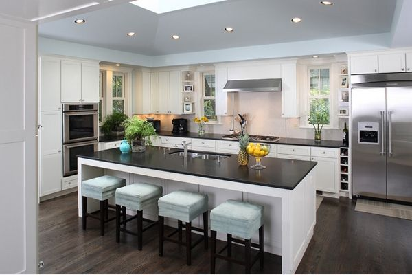 6Washingtondckitchen Islands With Plenty Of Seatingwould Impressive 10X10 Kitchen Designs With Island Inspiration Design