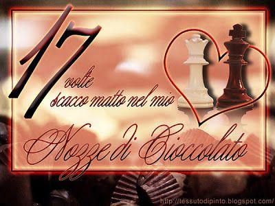 Anniversario Di Matrimonio 17 Anni.Nozze Di Cioccolato 5 Belle Frasi E Cartolina Per Festeggiare 17