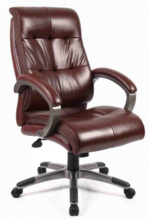 Leather Office Chair Uk Brown Leather Office Chair Brown