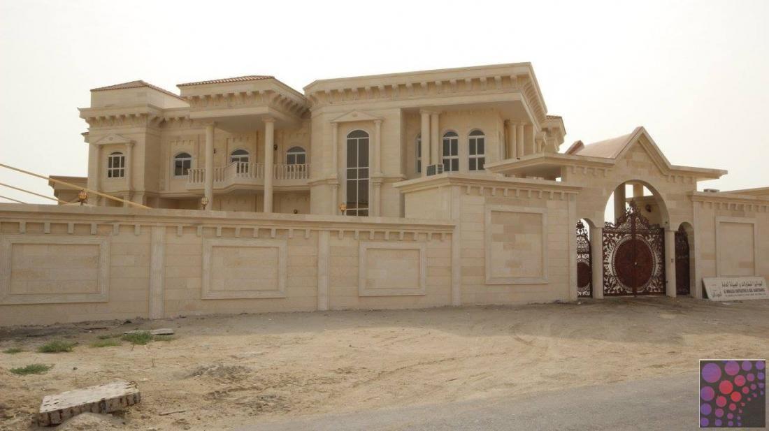للبيع فيلا Vip في مدينة خليفة أ House Styles House Exterior House