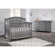 Best Park Ridge 4 In Convertible Crib Graphite Gray 400 x 300