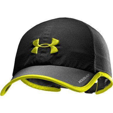 UNDER ARMOUR Mens Shadow Sports Running Cap - Black   Hi Vis  Amazon.co.uk   Sports   Outdoors f2e31e2d6