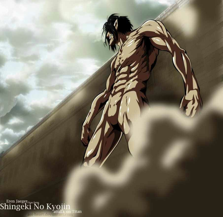 Attack on Titan Eren jaeger Eren Titan Titan form anime ...