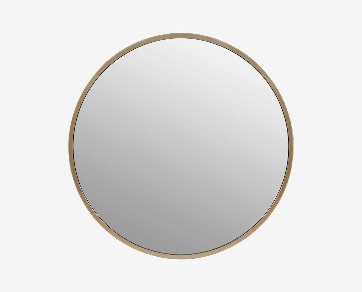 Maia 48 Round Mirrors Round Gold Mirror Mirror 48 inch round mirror