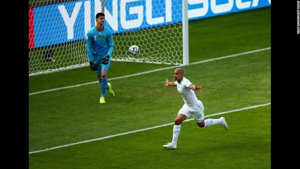 World Cup The Best Photos From June 17 Sports Goal Algeria Soccer Field